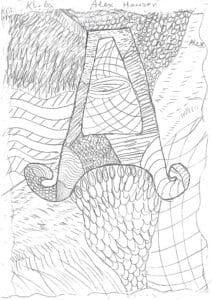 Zeichnung von Alexander