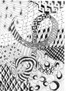 Zeichnung von Lucien
