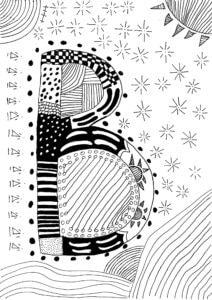 Zeichnung von Mark