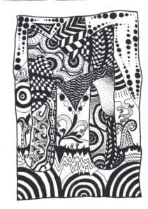 Zeichnung von Muriel