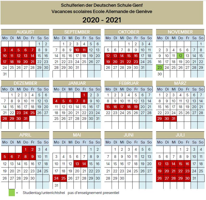Vacances   DSG